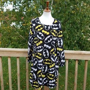 Batman Fleece Sleep Tee